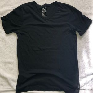 The Nike tee, dri-fit athletic cut